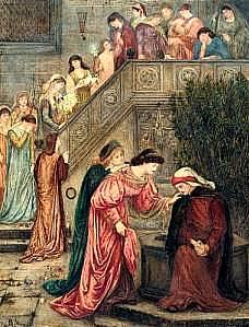 Marie Spartali Stillman (1844–1927) Dante (illustration de la 'Vita Nova') by Marie Spartali Stillman Date19 c.