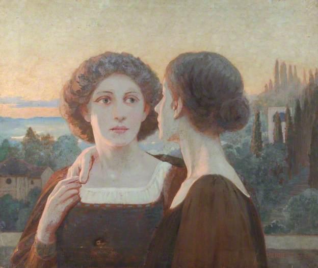 Amitié (Friendship) par William Herbert Allen, Hampshire County Council (Arts and Museums Service)