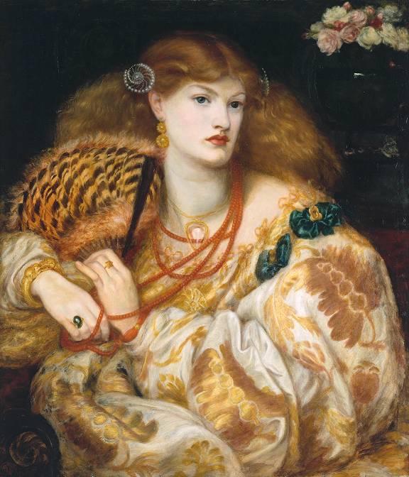 Dante Gabriel Rossetti (1828‑1882) Monna Vanna, 1866, Tate Gallery, huile sur toile