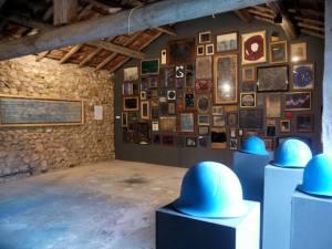 Les Nostalgies de l'Étoile, une installation exposée à la Maison Euzéby (été 2014)