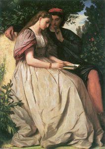 Anselm Feuerbach, Paolo et Francesca, 1864, Schackgalerie (Munich), huile sur toile