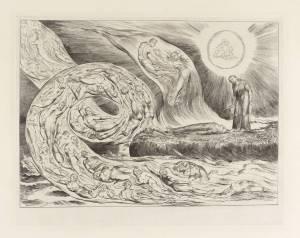 The Circle of the Lustful: Francesca da Rimini ('The Whirlwind of Lovers'), Dante's 'Divine Comedy'
