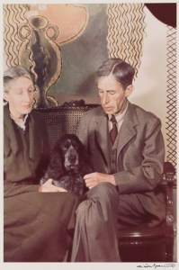 NPG P439; Virginia Woolf (nee Stephen); Leonard Sidney Woolf by Gisele Freund