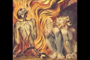 William Blake, Book of Urizen, planche 12