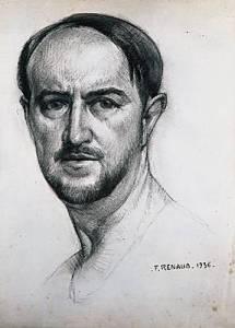 Portrait de Saint-John Perse par F. Renaud, 1936