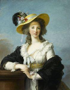 (10) EVL, Gabrielle Yolande Claude Martine de Polastron, duchesse de Polignac, 1782, huile sur toile, 92.2x73.3cm, ©Versailles, Musée national des châteaux de Versailles et de Trianon