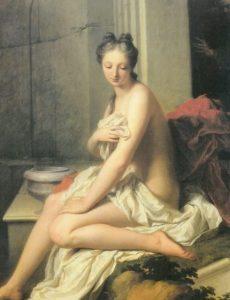 Santerre, Suzanne au Bain, 1704, Musée du Louvre