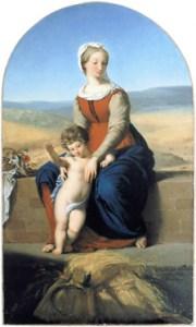 Eugène Delacroix, Vierge des Moissons, 1819