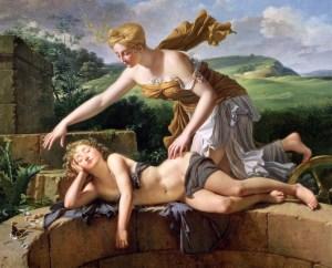 fig. 33 Pierre Bouillon (1776-1831) L'Enfant et la Fortune, 1801, huile sur toile ©Musee des Beaux-Arts, Rouen