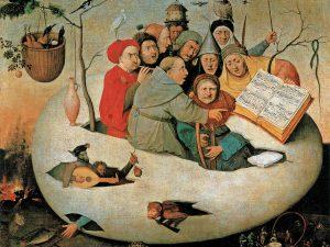 Jerome-Bosch-Le-Concert-dans-loeuf-entre-1453-et-1516-Huile-sur-toile-108-x-126-cm-Palais-des