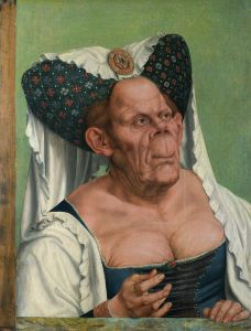 Quentin Metsys, Vieille femme grotesque, 1513, huile sur bois ©National Gallery, Londres