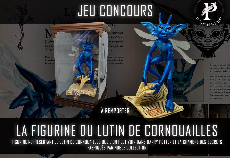 Remportez la figurine du Lutin de Cornouailles