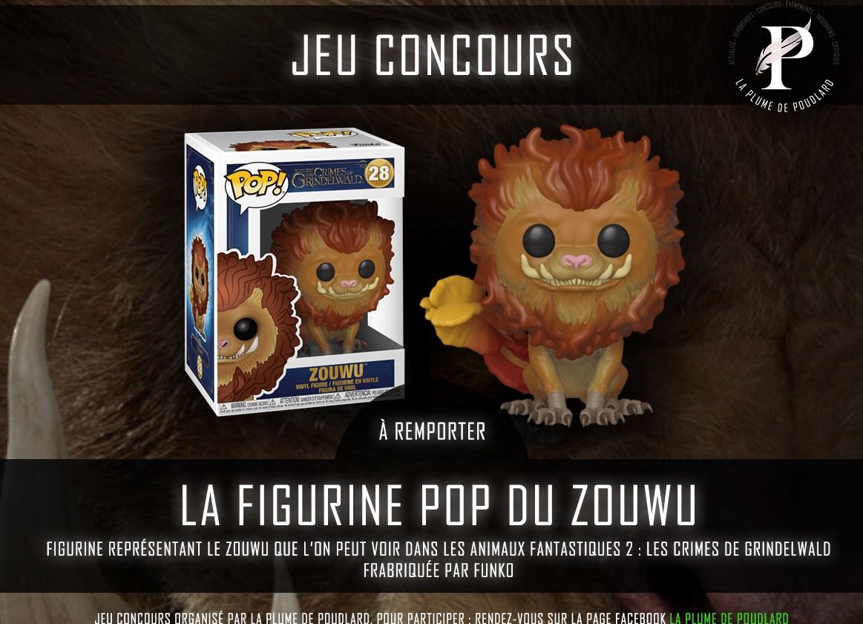 Remportez la figurine Pop du Zouwu