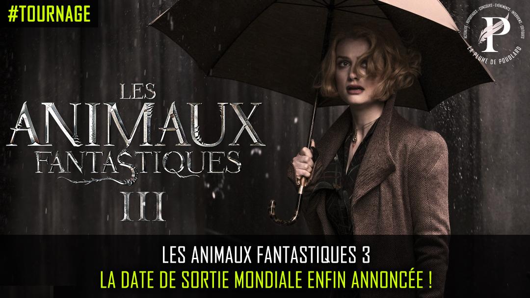La date de sortie du troisième volet des Animaux Fantastiques a été révélée !