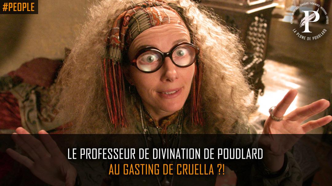 Emma Thompson au casting de Cruella ?!