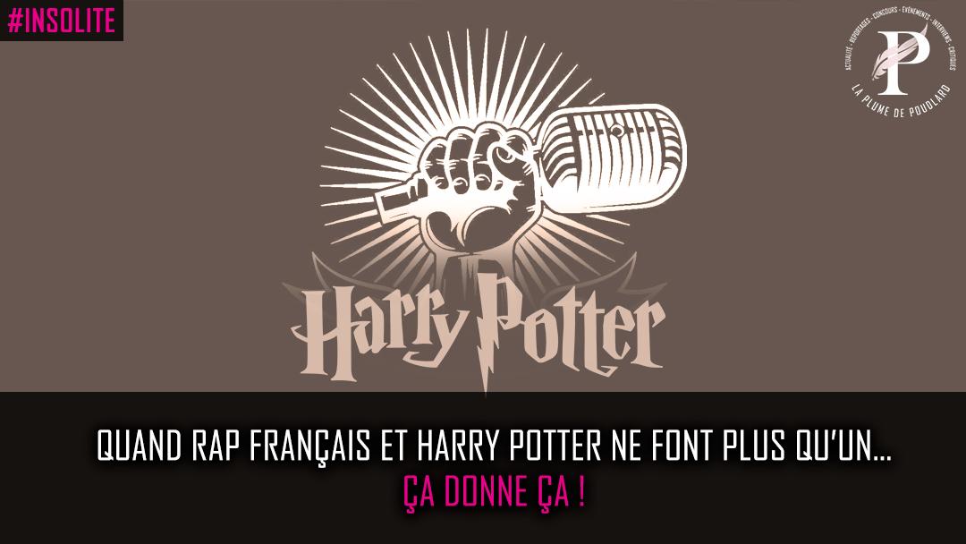 Quand Rap français et Harry Potter ne font plus qu'un… ça donne ça !
