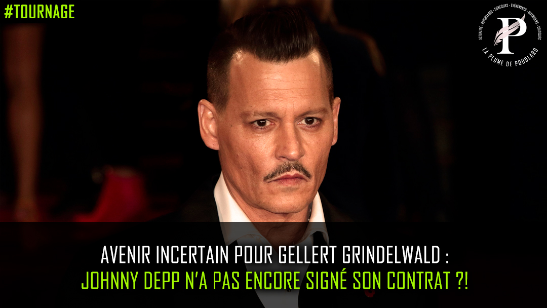 Avenir incertain pour Gellert Grindelwald : Johnny Depp n'a pas encore signé son contrat ?!