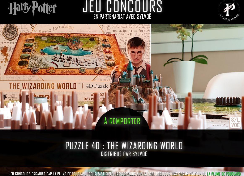 Remportez le puzzle 4D The Wizarding World