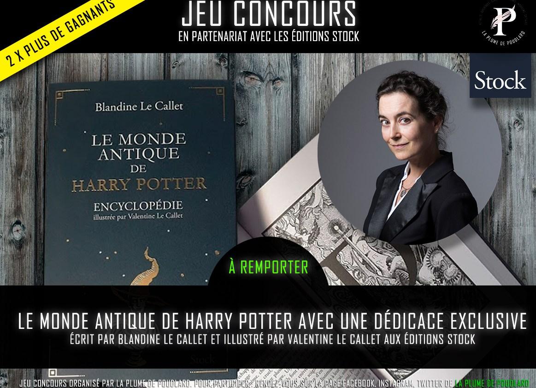 Jeu concours : Remportez 2 exemplaire de Le monde antique de Harry Potter dédicacés