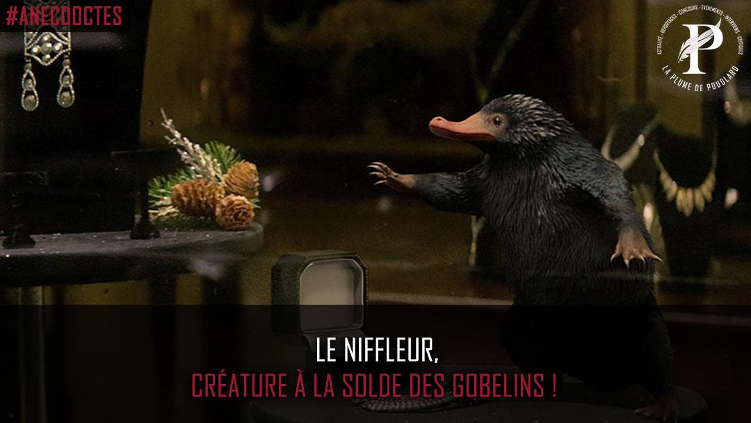Le Niffleur, créature à la solde des Gobelins !