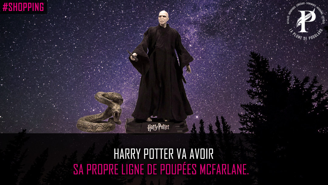 Harry Potter va avoir sa propre ligne de poupées McFarlane.
