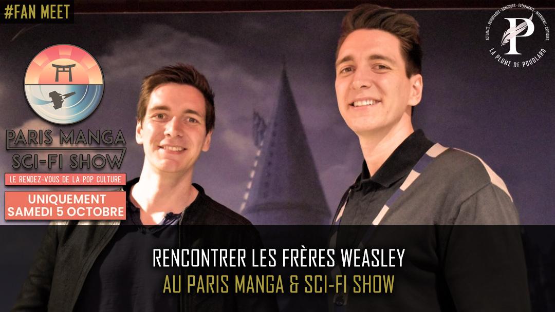Rencontrer les frères Weasley au Paris Manga & Sci-Fi Show