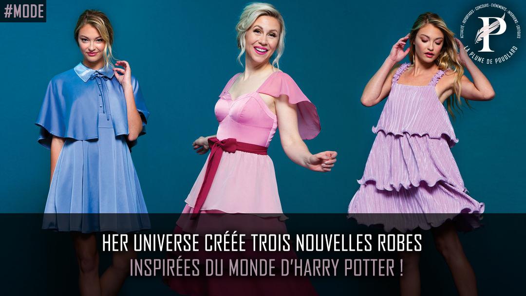 Her Universe sort trois nouvelles robes inspirées du monde d'Harry Potter !