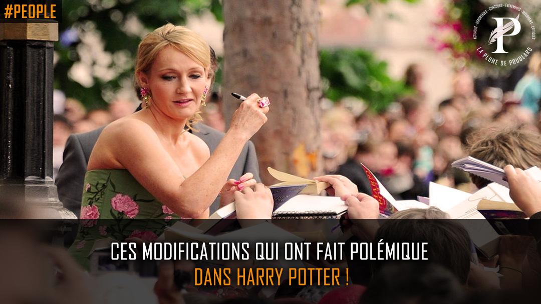 Ces modifications qui ont fait polémique dans Harry Potter !