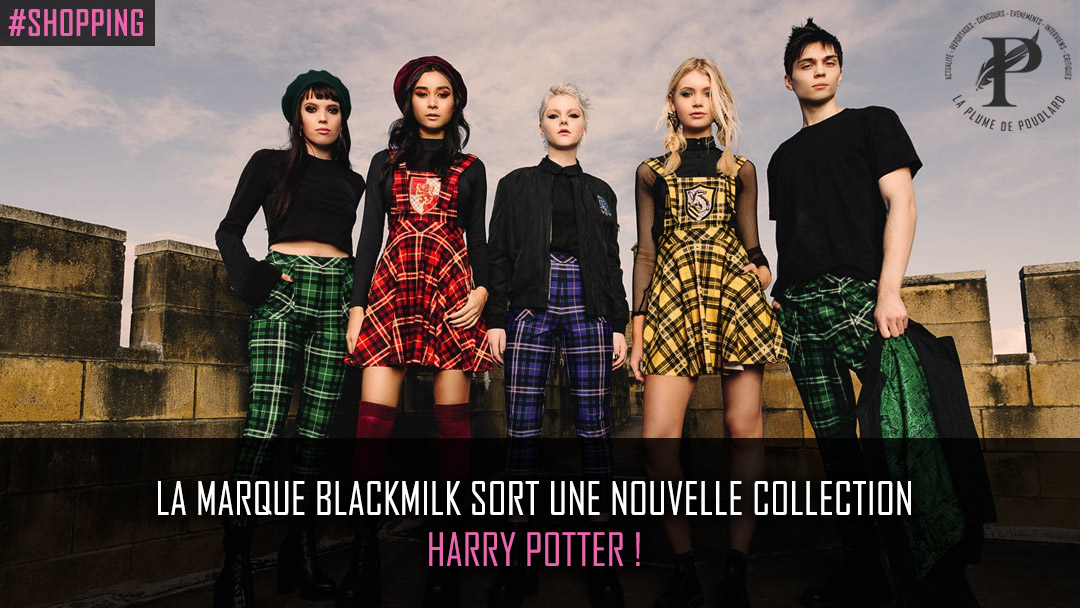 BlackMilk sort une nouvelle collection Harry Potter