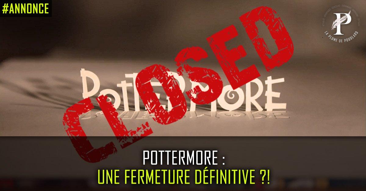Pottermore définitivement fermé !?