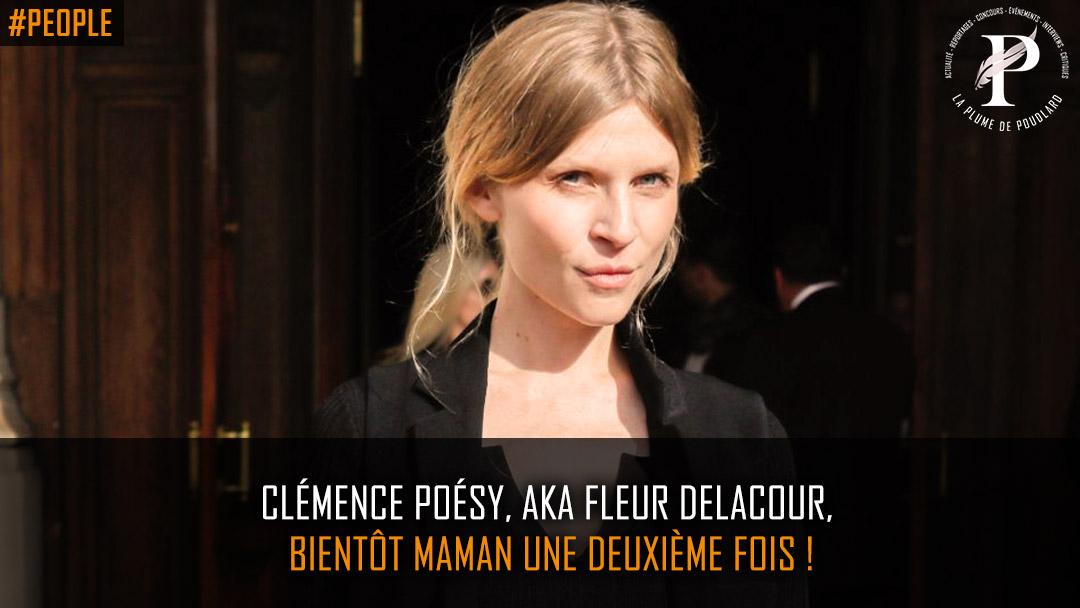 Clémence Poésy, Aka Fleur Delacour, bientôt maman une deuxième fois !