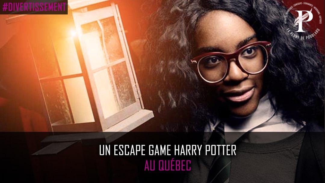 Un escape game Harry Potter au Québec !