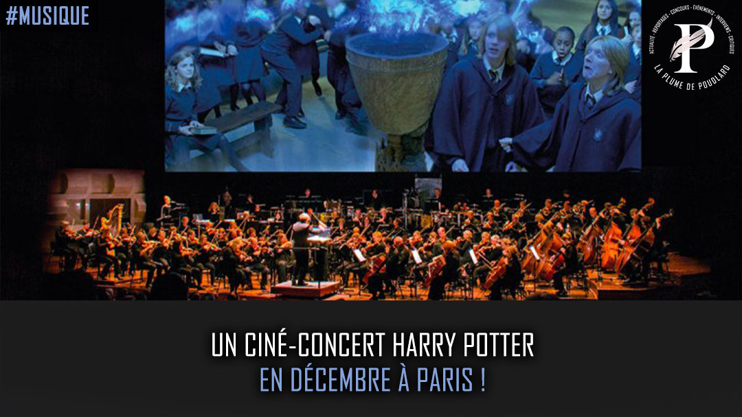 Un ciné-concert Harry Potter en décembre à Paris !