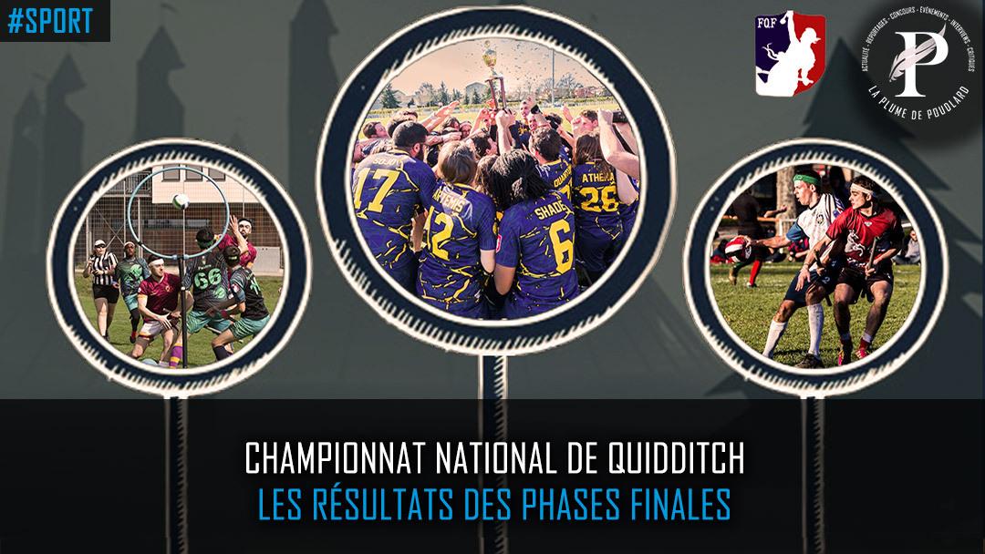 Championnat national de Quidditch : Les résultats des phases finale
