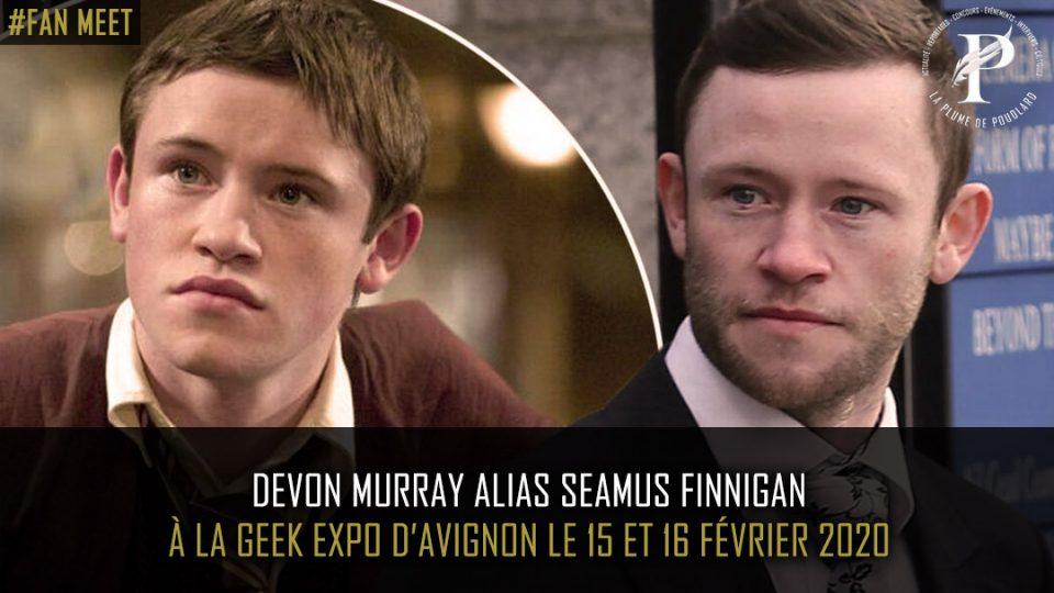Devon Murray au Geek expo d'Avignon