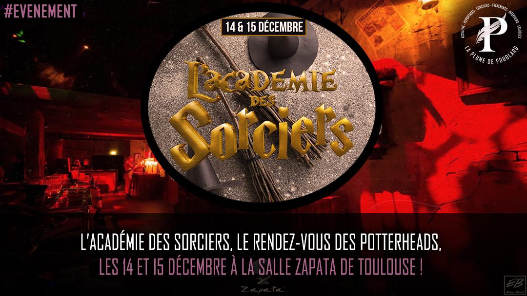Remportez 2 x 2 places pour l'académie des sorciers au Zapata de Toulouse