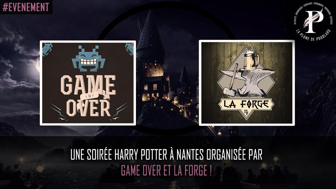 Le 23 novembre 2019 - Soirée Harry Potter à Nantes