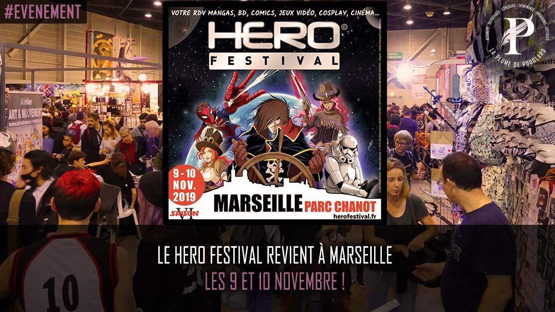 Le Hero Festival revient à Marseille les 9 et 10 novembre !