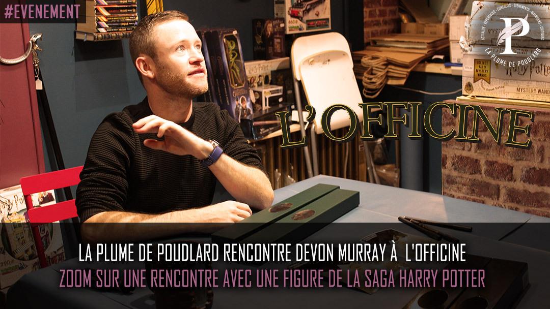 Retour sur la présence de Devon Murray à l'Officine de Lyon
