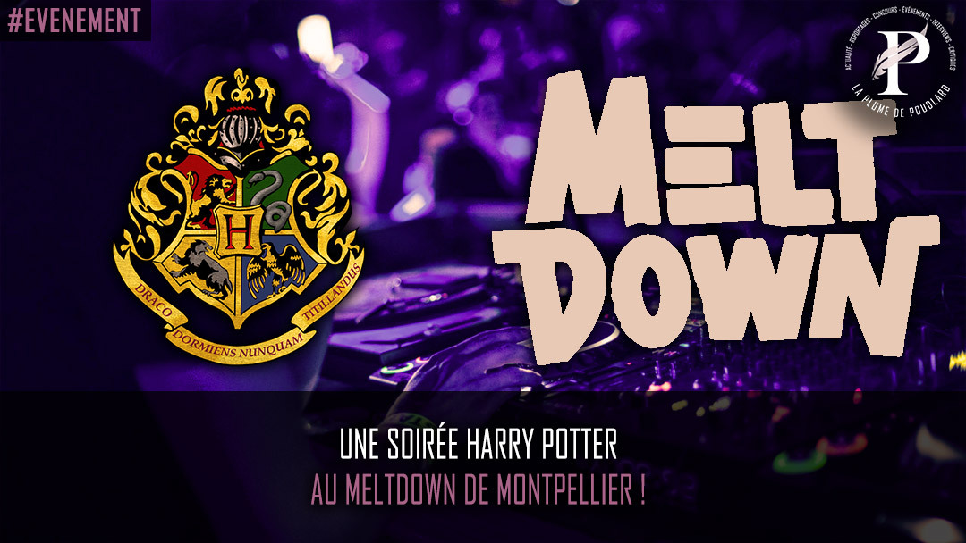 Une soirée Harry Potter au Meltdown de Montpellier !