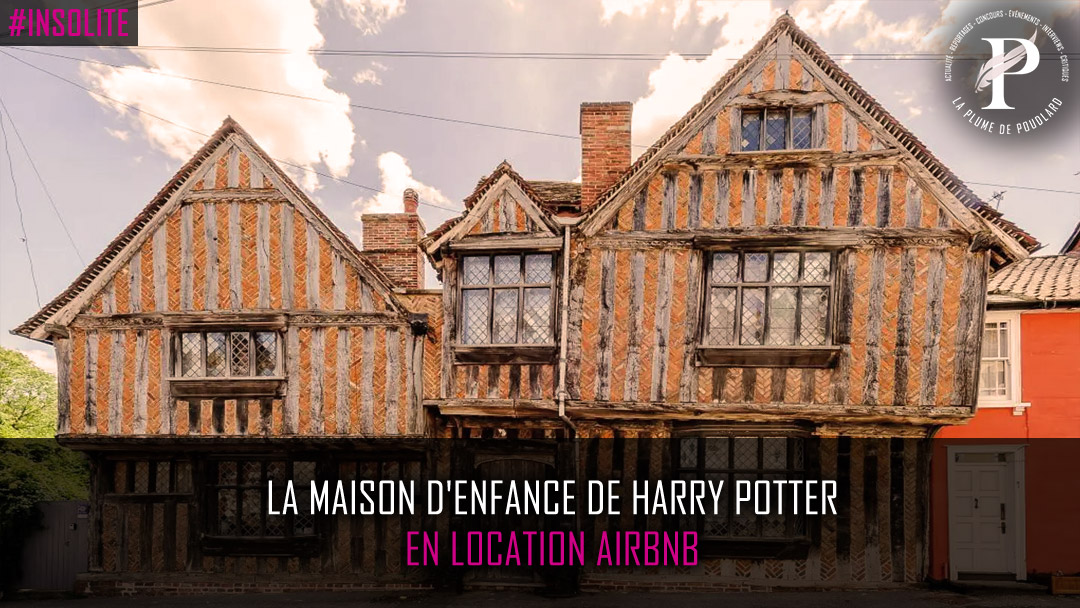 Venez passer une nuit dans la maison d'enfance de Harry Potter !