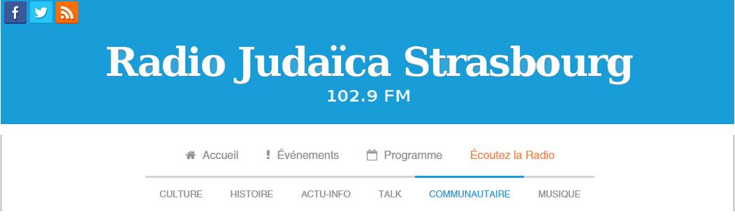 entete evenement radio judaica