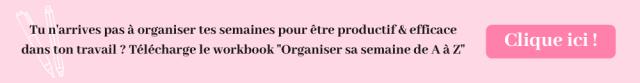 Workbook organisation de A à Z