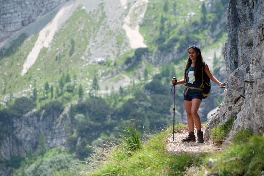 Excursión Lago Sorapis, Dolomitas.