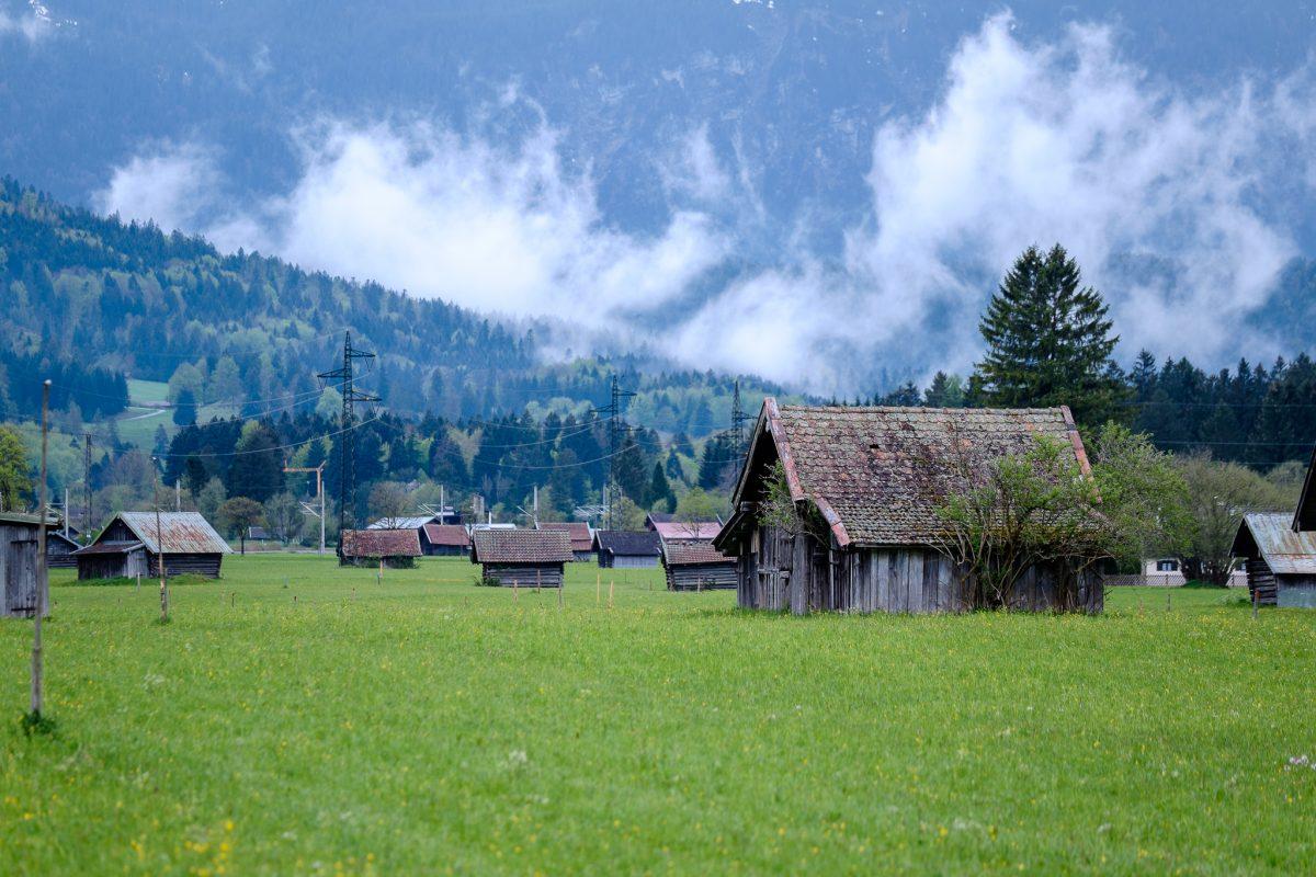 Paisaje Garmisch Partenkirchen