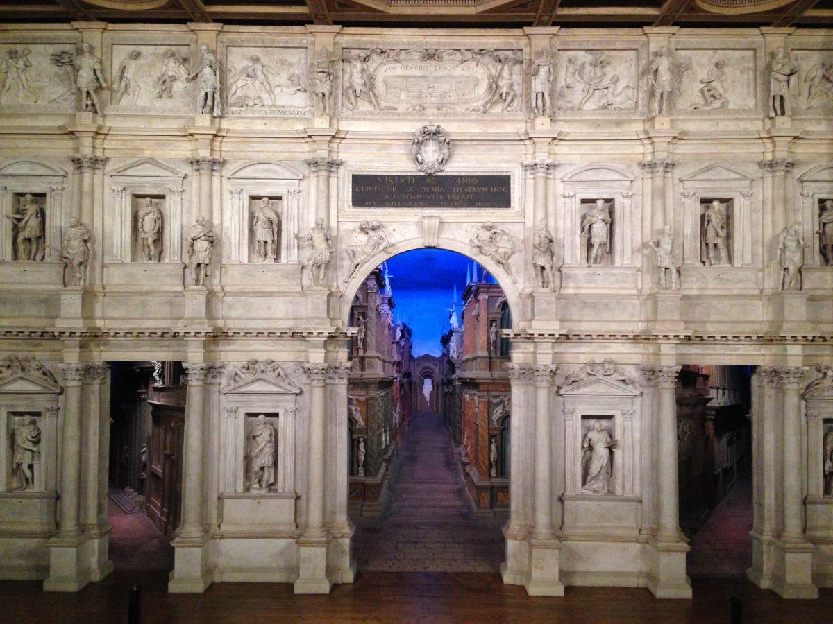 Teatro Olímpico, Vicenza.