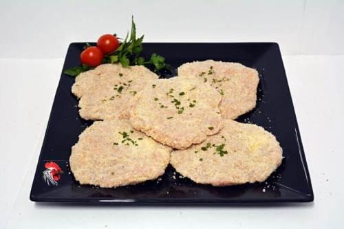Escalopes de Pollo Ajo y Perejil