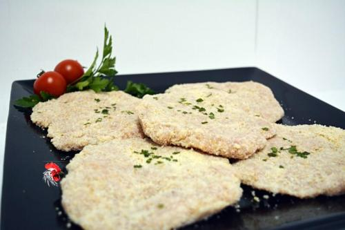 Escalopes de pollo, exquisitos a Domicilio