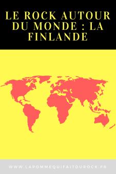 Le rock autour du monde : La Finlande