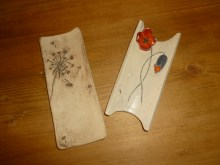 Modèle fleur de pissenlit et coquelicot